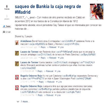 saqueo Bankia la caja negra de #Madrid
