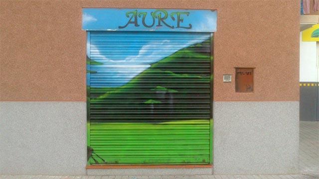 #graffiti cierre Auere #streetart